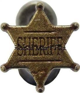 Sword/Knife/Dagger/Cane/Gun Hanger~Sheriff Badge/Star~Wall Display