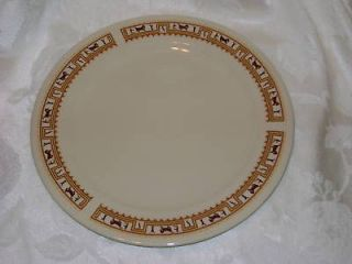 LORD NELSON POTTERY POTTERY WESTERN THEME DINNER PLATE HORSE CACTUS