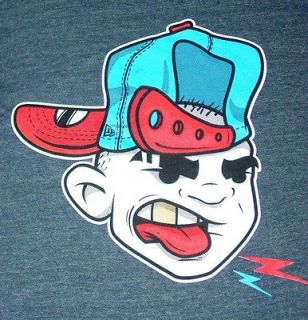 NWT New Era SNAPBACK HAT T Shirt Gangsta Hip Hop SICK Size L New 2012
