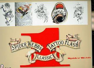 Spider Webbs Classic Tattoo Flash Book 1 by Spider Webb 2008