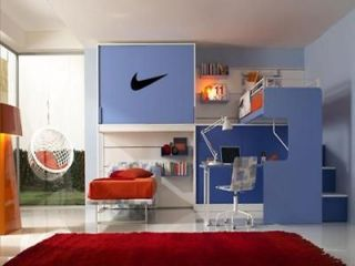 NIKE Wall Art Decal Boys Kids Sports Athletic Room Sticker 36