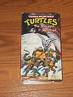 Teenage Mutant Ninja Turtles   The Shredder Is Splintered (VHS)