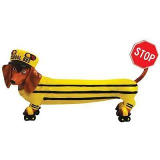 Bus Stop Sign Hot Diggity Dachshund Dog Figurine Westland Giftware
