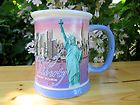 222 Fifth City Scene Paris Coffee Tea Mug Black White