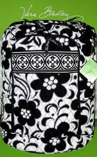 Bradley NIGHT & DAY LARGE LAPTOP BACKPACK Black & White Floral RETIRED