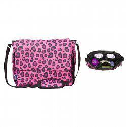pink leopard diaper bag by wildkin 47214