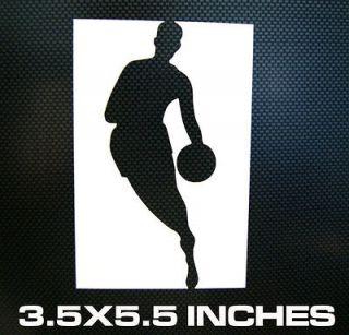 Newly listed NBA LOGO Logo Car Window Laptop Decal Sticker