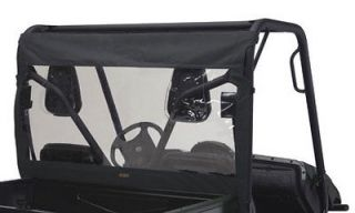 quad gear rear window dust kit honda big red utv