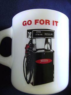 Mid Century Galaxy Advertising Mug TOKHEIM GAS PUMP,En Quip Inc.,San