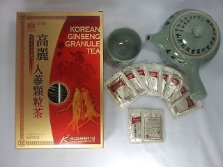 Newly listed *BEST*Korean Panax ginseng Tea Health + Diet Tea 3gx100ea