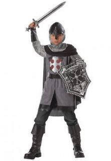 Boys Child Roman Warrior Medieval Deluxe Dragon Slayer Knight Costume