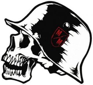 metal mulisha decal sticker 5 10 x 12 time left