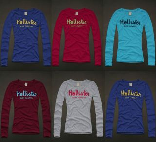 HCO Women Long Sleeve Graphic Logo Applique Shirt Top Zuma Beach NWT