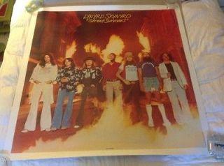 Scarce Recalled Lynyrd Skynyrd 4x4 MCA Records Sree Survivors Promo
