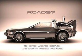 Back to the Future poster in Entertainment Memorabilia