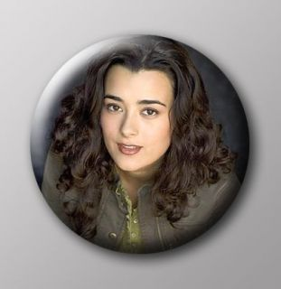 ncis ziva david button badge 25mm from australia time left