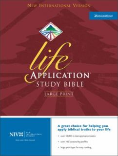 Life Application Study Bible by Zondervan Publishing Staff 2001