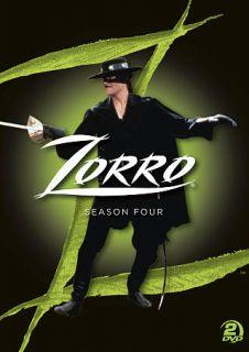 Zorro The Complete Season 4 (DVD, 2011,