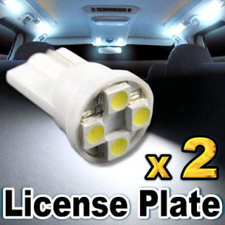 SMD LED Licence Plate Light Bulbs CHEVY (Fits 2002 Monte Carlo SS