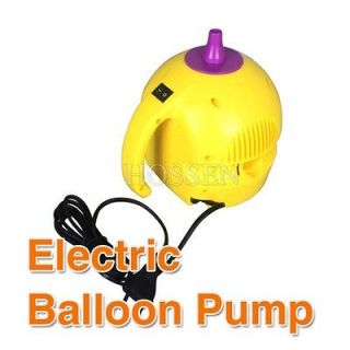 Electric Balloon Pump 110V 400W One Nozzle Balloon Inflator Air Blower