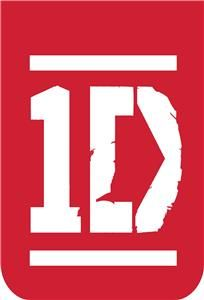 one direction logo iron on transfer 236