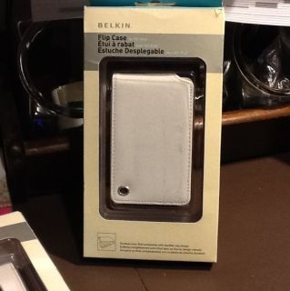 Belkin Flip Leather Case for iPod Classic 6G 7G 80GB 120GB 160GB