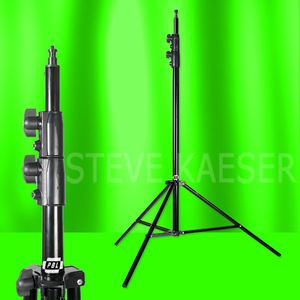 Light Stand Photo Video 10ft Pro Heavy Duty Air Cushioned Velcro Ties