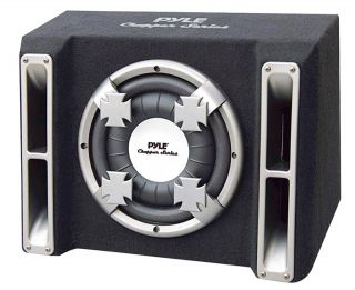 AUDIO PL112SS NEW SINGLE 12 INCH SLIM DESIGN SUBWOOFER BASS BOX SYSTEM