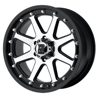 18 inch XD Addict Black Wheels Rims 6x135 Ford F150 18