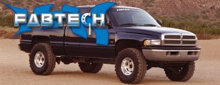 2000 2001 Dodge RAM 1500 Extended Cab 2WD Fabtech 3 5 Spindle System
