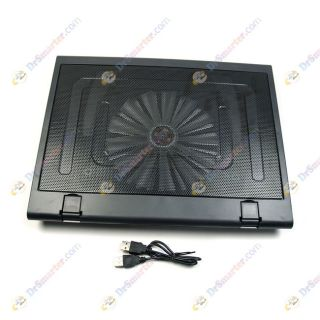 T638 Super Silent USB Cooling Cooler Pad 200mm Fan for Laptop