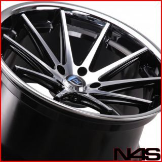 20 Infiniti G35 Coupe Rohana RC10 Machined Deep Concave Staggered