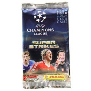 Packet UEFA Champions League Panini Super Strikes Soccer Football