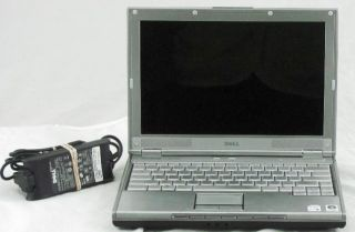 Dell XPS M1210 PP11S 2048MB DVD RW Laptop with Bad Backlight Powers On