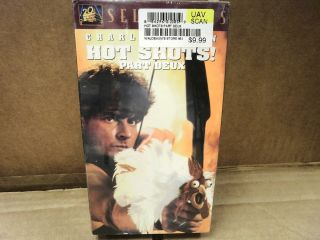 L47 Hot Shots Part Deux Charlie Sheen 20th Century Fox 1993 New VHS