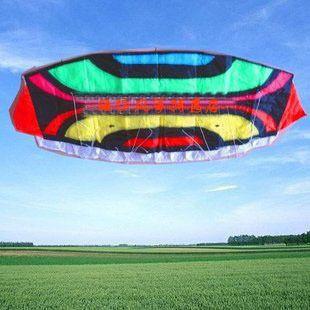 3m 2 Line Stunt Parafoil POWER Sport Kite Rainbow umbrella Limited