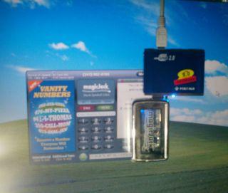 Magicjack 4 Port Powered USB Hub w 2 000mA Power Supply for Magic Jack