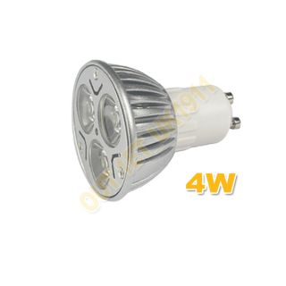 GU10 220 240V 4W 6W High Power LED Spot Light Bulbs Lamp Day Warm