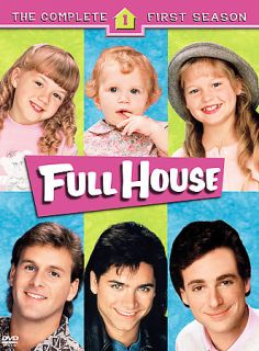 Full House   The Complete First Season (DVD, 4 Disc Set)
