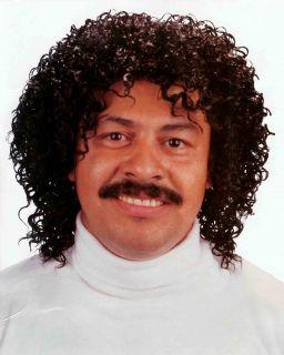 Jerry Jheri Curl Curly Afro 70s 80s Lionel Richie Disco Pimp Wig
