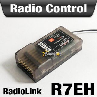 Radiolink 2 4G 7 Channel R7EH Receiver for RC Airplane Helicopter