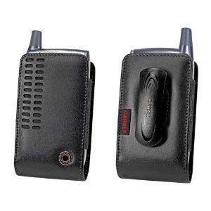 Cellet Palm Treo 600 700W HTC 8125 Samsung i730 etc Black Bergamo Case