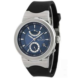 Mens Mechanical Automatic Power Reserve Dual Time Watch C 3008