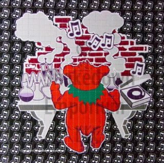 Grateful Dead Owsley Chemistry Bear Blotter Art