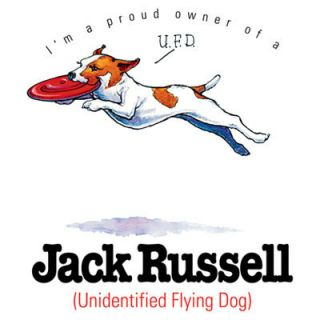 Im A Proud Owner Of A Jack Russell Terrier Dog T Shirt Small White Tee