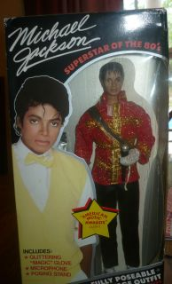 Michael Jackson Superstars of the 80s Doll in American Music Awards