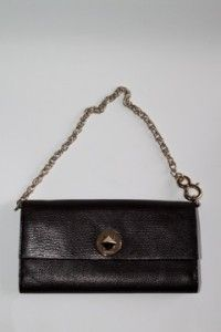 Kate Spade Brown Leather Clutch Wallet Bag