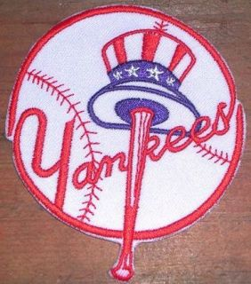 New York Yankees Embroidered MLB Logo Patch