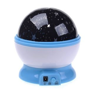 Popular New Beautiful Rotation Star Sky Romantic Night Projector Light