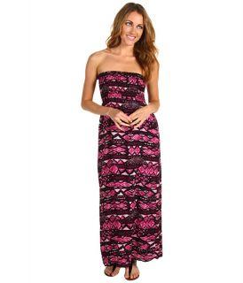 Christin Michaels Avah Strapless Maxi Dress